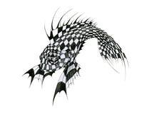 Pesci di scacchi illustrazione vettoriale