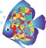 Pesci di vettore Fotografia Stock