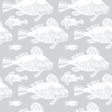 Pesci di vettore, oceano Fotografia Stock