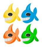 Pesci divertenti illustrazione vettoriale