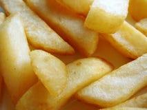 Pesci e chip Fotografia Stock
