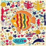 Pesci e vita marina Fotografia Stock