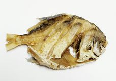 Pesci fritti Fotografie Stock Libere da Diritti