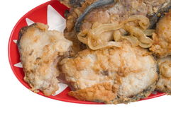 Pesci fritti. Fotografia Stock Libera da Diritti