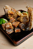 Pesci fritti giapponesi. Fotografia Stock Libera da Diritti