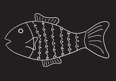 Pesci modellati Fotografia Stock