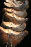 Pesci piatti affumicati Fotografie Stock Libere da Diritti