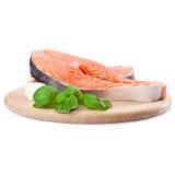 Pesci rossi di color salmone immagini stock libere da diritti
