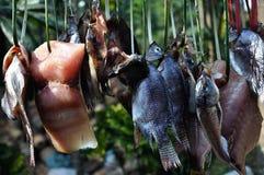 Pesci salati Fotografia Stock Libera da Diritti