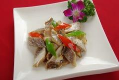 Pesci salati secchi Fotografia Stock