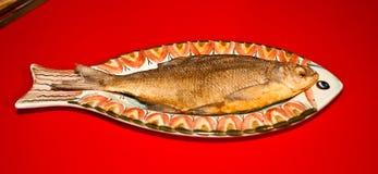 Pesci secchi salati Fotografia Stock
