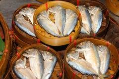 Pesci tailandesi secchi Fotografia Stock Libera da Diritti