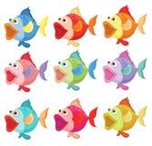 Pesci variopinti illustrazione di stock