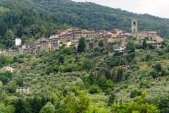 pesciatinasvizzera tuscany Royaltyfri Bild