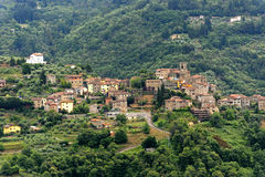 pesciatinasvizzera tuscany Arkivbild