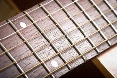 Pescoço da guitarra Imagens de Stock