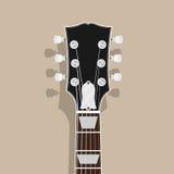 Pescoço da guitarra Fotos de Stock
