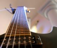 Pescoço da guitarra Fotografia de Stock Royalty Free