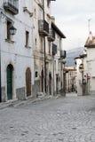 Pescocostanzo, Aquila, Italië Stock Afbeeldingen
