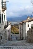 Pescocostanzo, Aquila, Italien Lizenzfreies Stockbild