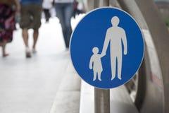 Pesdestrian Sign Stock Images