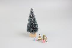 Pesebre de la Navidad Adoración de los tres hombres sabios Bebé Jesús Imagenes de archivo
