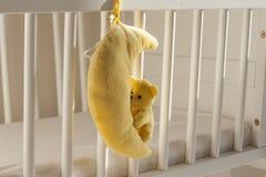 Pesebre del bebé Imagenes de archivo