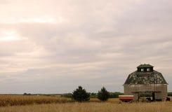 Pesebre del maíz del otoño Fotos de archivo