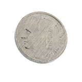 Peseta. The last Spanish currency the peseta trimmed and isolated Royalty Free Stock Image