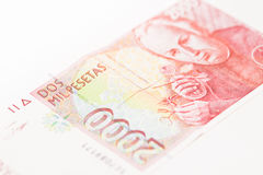 2000 peseta Foto de Stock Royalty Free