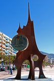 Peseta Monument, Fuengirola. Royalty Free Stock Images