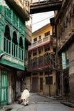 Peshawar gammal stad Pakistan Arkivfoto