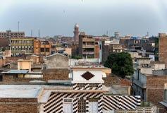 Peshawar stads- Kpk Pakistan Arkivbild
