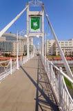 Peshekhodny bro Arkivbilder