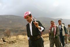 Peshmerga nel Kurdistan Fotografia Stock Libera da Diritti