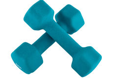 Pesi di Dumbbell Immagine Stock