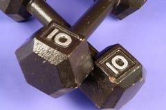 Pesi di ginnastica immagini stock libere da diritti