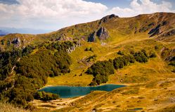 Pesica lake, Bjelasica mountains, Montenegro Stock Photography