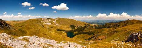Pesica lake, Bjelasica mountains, Montenegro Stock Images