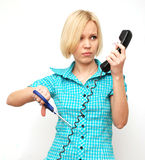 Pesky phone Stock Images