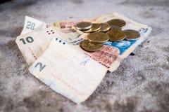 Peso argentino Fotografie Stock Libere da Diritti