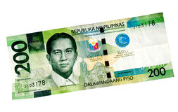 Peso Bill Royalty Free Stock Photography