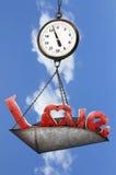 Peso de amor Imágenes de archivo libres de regalías