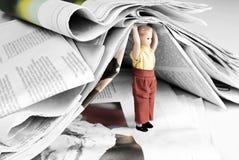 Peso de la información Foto de archivo libre de regalías