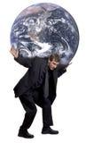 Peso do mundo Imagem de Stock Royalty Free