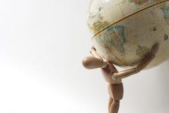 Peso do mundo Fotografia de Stock