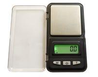 Peso electrónico Fotografía de archivo libre de regalías