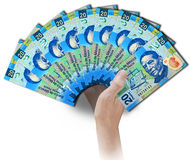 Peso fan Royalty Free Stock Image