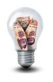 Peso-Glühlampe Lizenzfreie Abbildung