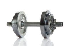 Peso isolado no conceito branco do objeto do gym do fundo Imagens de Stock